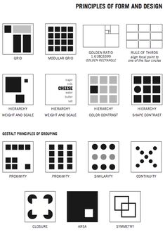 principles of design Basic Design Principles, Graphic Design Lessons, Elements And Principles, Elements Of Design, Graphic Design Inspiration, Grid Graphic Design, Graphic Designers, Layout Print, Layout Design