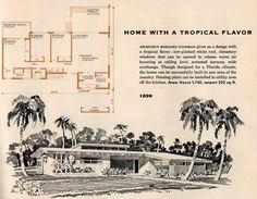 Plan #1820 (1956) 1720 sq ft | by SportSuburban