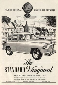 """You can look but you can't buy. Standard Vanguard - """"for export only during 1948"""""""