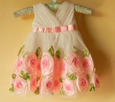Hey, I found this really awesome Etsy listing at http://www.etsy.com/listing/150408865/white-chiffon-organza-flower-girls-dress