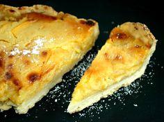 Torta di mele con crema al limone divina