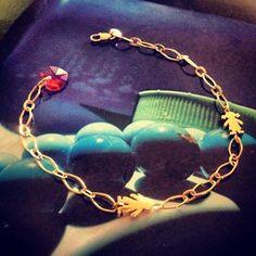 Pulsera NANO Niña/niña #bimetal #niña #pulsera #golden #gold #bracelet