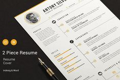 The Resume by sz81 on @creativemarket