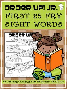This set of ORDER UP! JR. focuses on Fry's first 25 sight words. Students will be using all 25 words in various ways such as finding matches/pair and choosing the correct word to complete the sentence. ($)