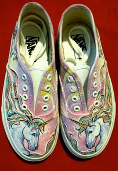 Custom Designed Handpainted Shoes by eliap on Etsy, $90.00