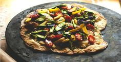 Flatbread Pizza with Asparagus & Baby Potatoes