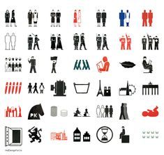 "otto neurath and Gerd Arntz(Isotype)[caption align=""alignleft"" otto neurath Otl Aicher, Human Icon, 100 Chart, Languages Online, People Icon, Pictogram, Line Icon, Good Books, Symbols"