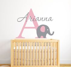 Name wall decor for nursery baby room decals mermaid decal girl