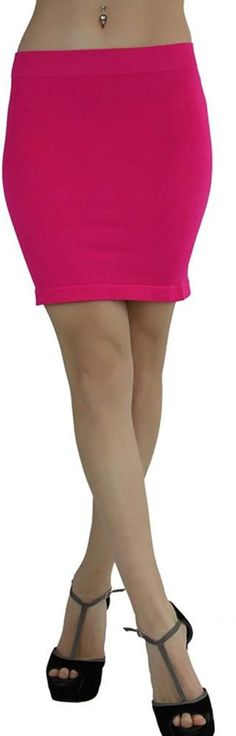 Tranquility Womens Mini Skirt Pink Short Flare Medium Clothing, Shoes & Accessories