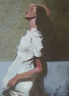 Michael Carson  This is how I want my wedding to feel- organic, simple, elegant, with a touch of magic at dusk