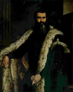 Portrait of Daniele Barbaro, 1562-1570 Paolo Veronese