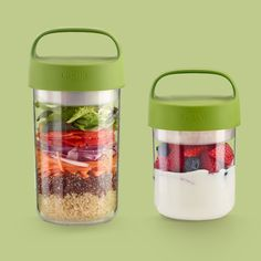 Salads, soups, breakfasts... What will you bring in your Jar to go? Get yours and let your imagination fly...
