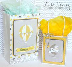 Lisa's Creative Corner: Georgie PML Gift Tag and Bags #ctmhgeorgie