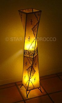 Subra Yellow Lamp