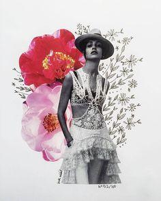 flower collage foundbykaty - No. : flower collage foundbykaty - No. Mode Collage, Mixed Media Collage, Collage Art, Fashion Collage, Fashion Art, Fashion Design, Collage Design, Design Art, Collage Magazine
