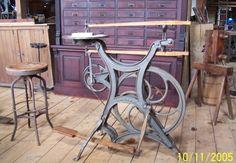 Seneca Falls Empire treadle/steam scroll saw