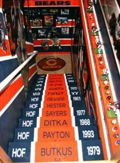 Dream Man Cave...even if I'm not a bears fan.