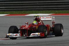 Felipe Massa, Ferrari, Sepang, 2012