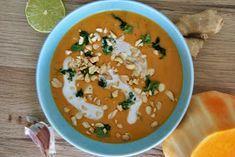 Gospodyni Miejska: Tajska zupa krem z dyni piżmowej