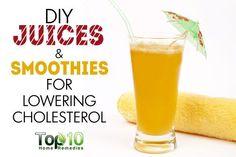DIY beetroot green smoothie for lowering cholesterol