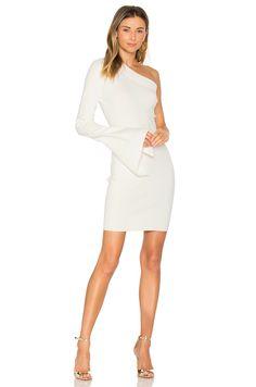 SOLACE London Danica Mini Dress in Cream | REVOLVE