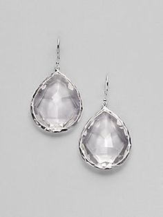 Ippolita - Clear Quartz & Sterling Silver Drop Earrings
