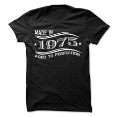 MADE IN 1975 AGED TO PERFECTION 2 T Shirt, Hoodie, Sweatshirt