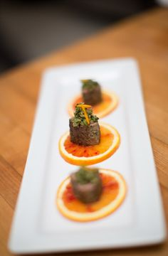 In the Kitchen: Lamb w/ Candied Olive & Orange Tapenade