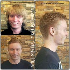 Another amazing transformation for one of my regulars before vacation! Looking to move up in his job and he said he wanted to look professional! #HairByTifani #HairStudioDenver #ILoveMyJob #ChangeForABetterFuture