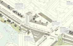 """Rotterdam's landscape architecture firm Openfabric has proposed a way to utilize the city's public transport network to """"make them suitable for both humans and the biodiversity"""". Dubbed """"Diverse Networks"""", the initiative would allow them to link up some of the hotspots for the city's wildlife. (via CNN)"""