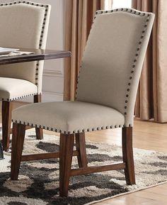 Creston Upholstered Side Chair #UrbanLoft