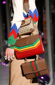 Gucci Gets Heavily into the Brand's Signature Bamboo for Its Fall 2017 Bags - PurseBlog