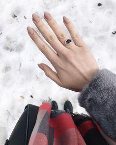 Весенний маникюр на овальную форму ногтей #manicure #pinkmanicure