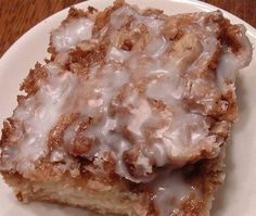 Cinnamon Roll Cake the kids would love this.