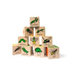 BUG ABC BLOCK SET