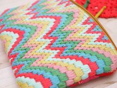 Bordado tapicero