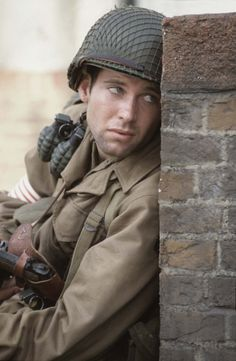 Band of Brothers - Ron Livingston as Capt. Lewis Nixon