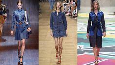 Les 20 tendances robes de l'été 2015: jean