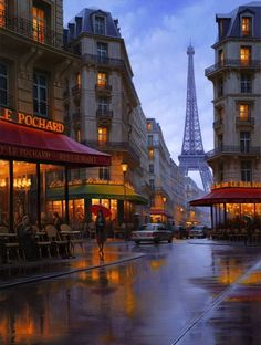 Realistic Nightscapes Of Melancholy Cities Painted by Alexey Butyrsky