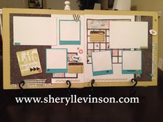 Sheryl Levinson's Memories by Design Chalk it Up Workshop on the Go