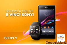 Concorso a premi Wind: ricarica online e vinci Sony - http://www.omaggiomania.com/concorsi-a-premi/concorso-premi-wind-ricarica-online-e-vinci-sony/