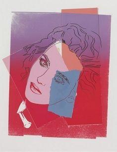 Isabelle Adjani | Andy Warhol, Isabelle Adjani (1986)