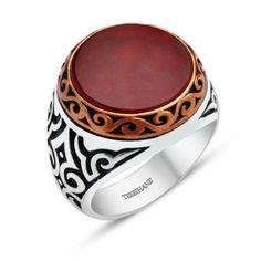 925 Ayar Gümüş Akik Taşlı Oval Yüzük #gümüşyüzük #akiktaşlıyüzük #erkekyüzük Ürünü incele : http://www.keyfipasaj.com/925-ayar-gumus-akik-tasli-oval-yuzuk