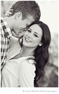 Cute couple engagement pictures
