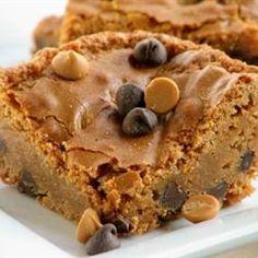 Chippy Blond Brownies Allrecipes.com