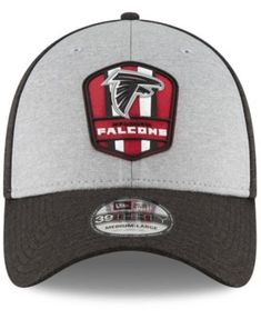 new concept abed1 5f53b New Era Atlanta Falcons On Field Sideline Road 39THIRTY Stretch Fitted Cap.  Team SlogansNfl ...