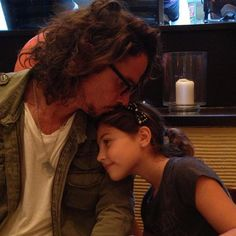 "2,406 Likes, 72 Comments - Chris Cornell (@chriscornellofficial) on Instagram: ""So happy to be with Daddy!"""