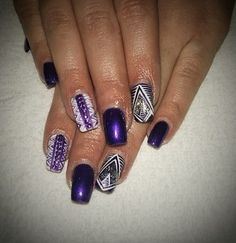 Gel nails and nail art