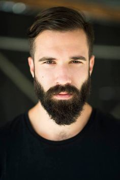 Facial Hair - Beard lengths are achieved in proportion by keeping the sides tamed. A full length beard all around can be off putting.