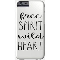 Free Spirit Phone Case ($23) ❤ liked on Polyvore featuring accessories and tech accessories